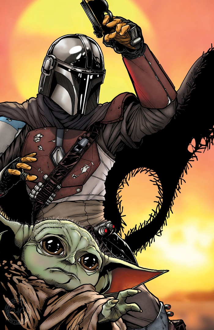 THE MANDALORIAN: WITH THE CHILD