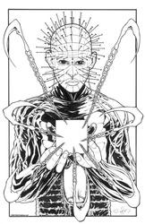 Pinhead - BW Drawing
